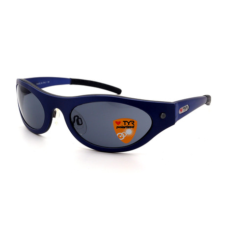 Unisex TR10-35-02 Eyewish Polarized Sunglasses // Brushed Blue Night