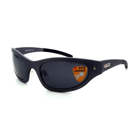 Unisex TR12-19-02 Stealth Polarized Sunglasses // Brushed Gunmetal