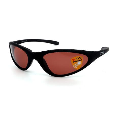 Unisex TR22-02-09 Topanga Polarized Sunglasses // Black + Chestnut