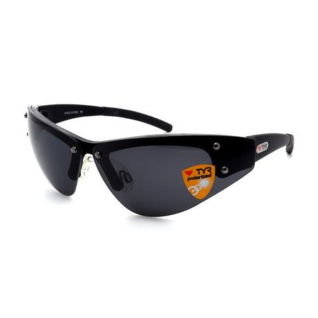 Unisex TR05-01-02 XT5 Polarized Sunglasses // Brushed Black