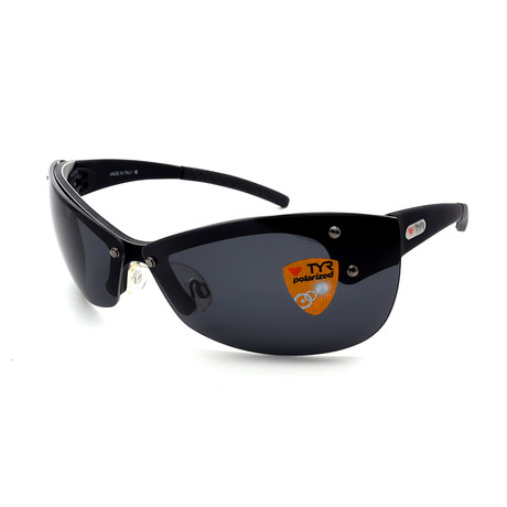 Unisex TR04-01-02 XT4 Polarized Sunglasses // Brushed Black