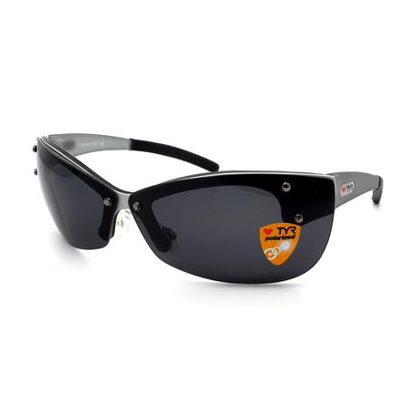 Unisex TR04-20-02 XT4 Polarized Sunglasses // Brushed Aluminum