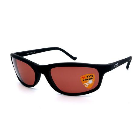Unisex TR23-02-09 Sunset Polarized Sunglasses // Black + Chestnut