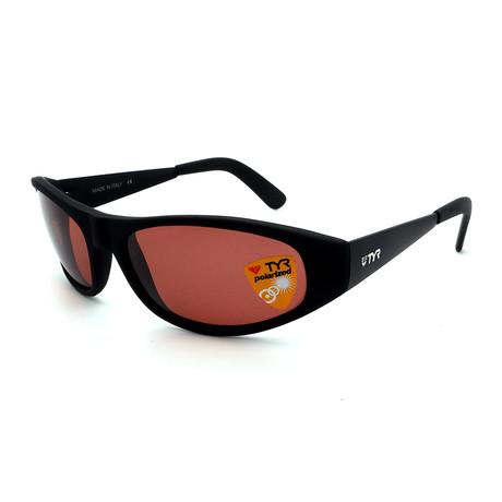 Unisex TR21-01-09 Jaco Polarized Sunglasses // Matte Black + Chestnut