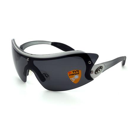 Unisex TR01-20-02 XT1 Polarized Sunglasses // Brushed Aluminum