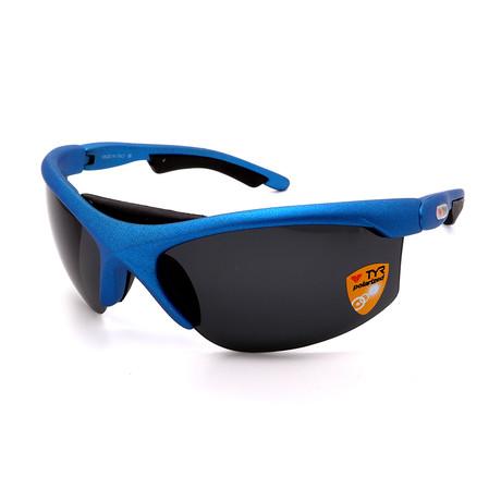 Unisex TR06-36-02 XT6 Polarized Sunglasses // Blue + Black