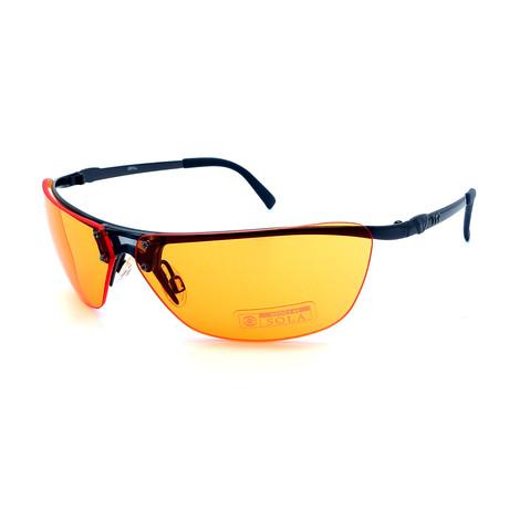 Unisex TR09-21-05 Jekyll Sunglasses // Matte Black + Orange