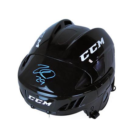 Nathan MacKinnon // Colorado Avalanche // Autographed CCM Hockey Helmet