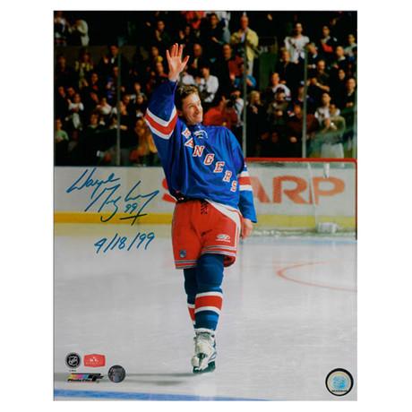 Wayne Gretzky // Autographed Photo