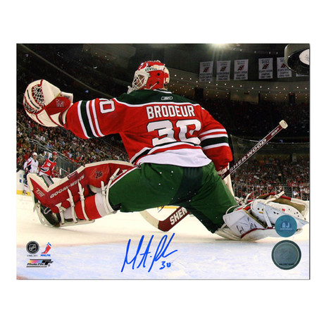 Martin Brodeur // New Jersey Devils // Autographed Photo