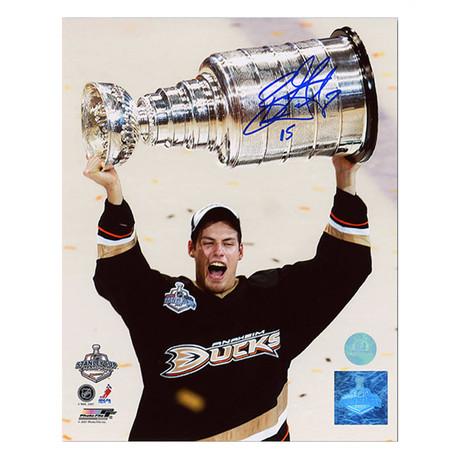 Ryan Getzlaf // Anaheim Ducks // Autographed 2007 Stanley Cup Photo