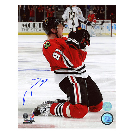 Marian Hossa // Chicago Blackhawks // Autographed Photo