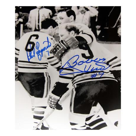 Bobby Hull + Phil Esposito // Chicago Blackhawks // Autographed Photo