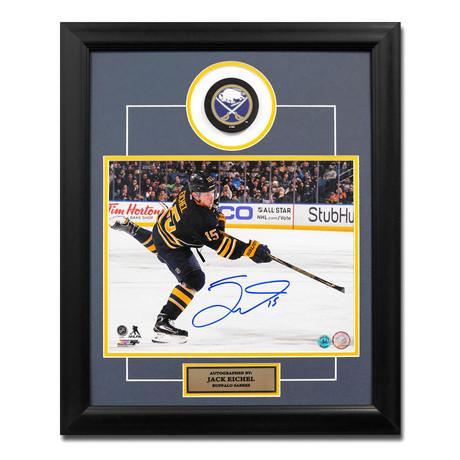 Jack Eichel // Buffalo Sabres // Autographed NHL Puck Display