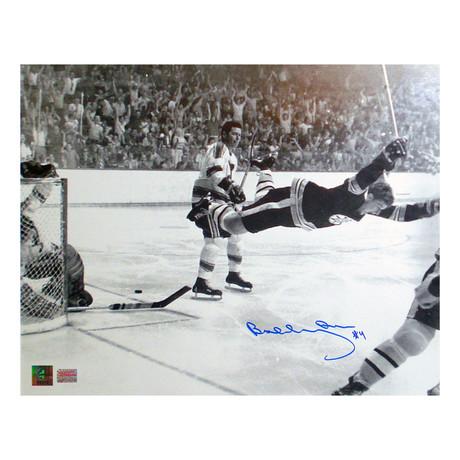 "Bobby Orr // ""The Goal"" // Autographed Photograph"