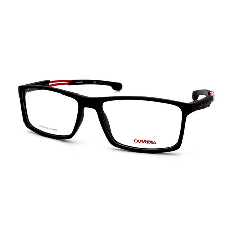 Carrera // Men's 4410-003 Optical Frames // Black + Red
