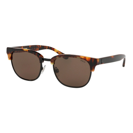 Polo // Men's PH4152-535173 Sunglasses // Havana + Brown