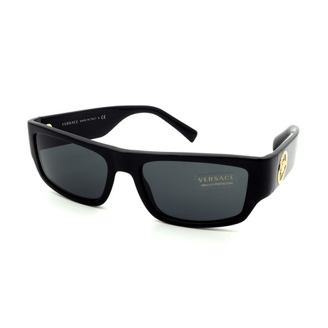 Versace // Men's GV4385-GB1/87 Sunglasses // Black + Gray