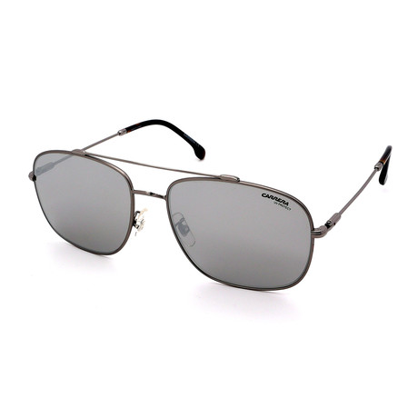 Carrera // Men's 182FS-6LB Sunglasses // Gunmetal + Silver + Gray