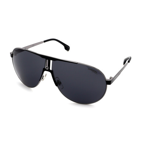 Carrera // Men's 1005S-T17 Sunglasses // Black + Gray