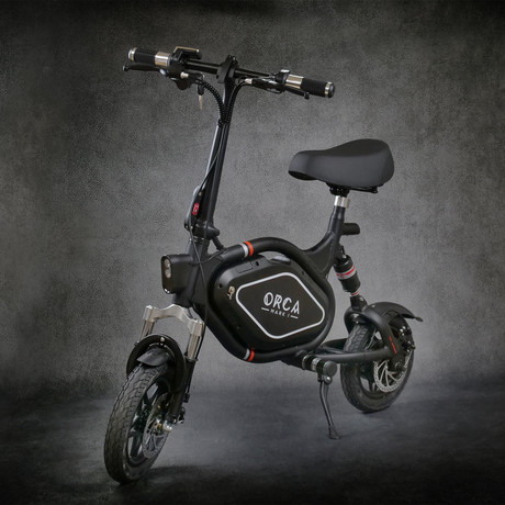 ORCA Mark 1 // Ergonomic Seated Electric Scooter