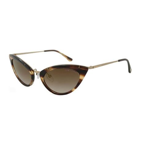 Women's Grace Sunglasses // Havana + Brown Gradient