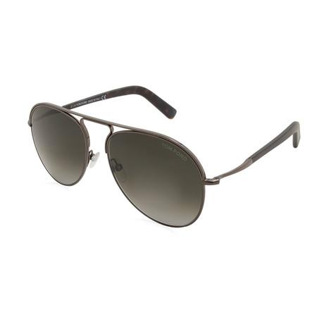 Men's Cody Sunglasses // Gunmetal + Gray