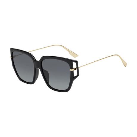 Women's DIORDIRECTION3F-0807-1I Sunglasses // Black + Gray