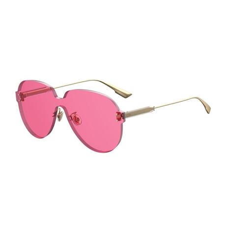 Women's DIORCOLORQUAKE3-0MU1-U1 Sunglasses // Fuchsia