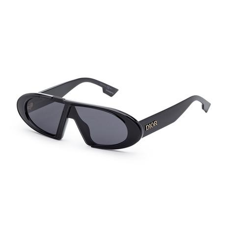 Women's OBLIQUES-807-2K Sunglasses // Black + Gray