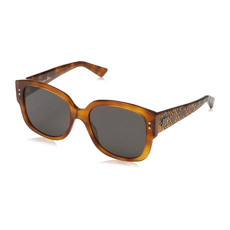 Women's LADY-STUDS-SX7-2K Sunglasses // Light Havana + Gray