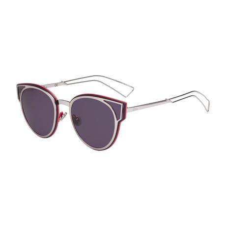 Women's DIORSCULPT-0R7U-C6 Sunglasses // Lilac + Dark Purple