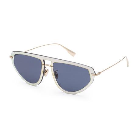 Women's ULTIME2S-0LKS-561I Sunglasses // Gold + Blue