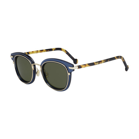 Women's DIORORIGINS2-0PJP-QT Sunglasses // Blue + Green