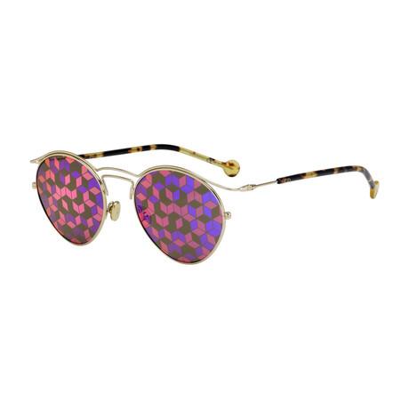 Women's Origin Sunglasses // Gold Havana + Brown