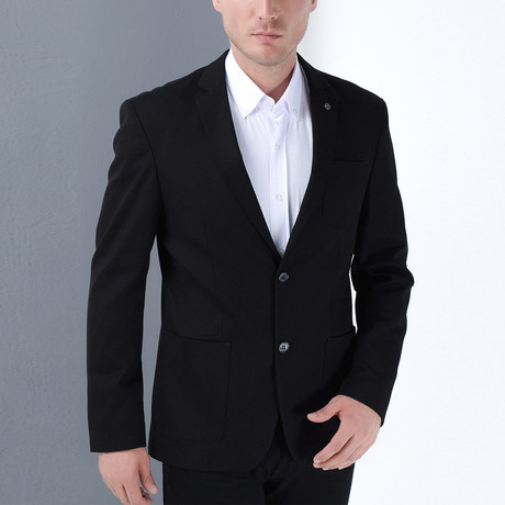 Virgilio Jacket // Black (Small)