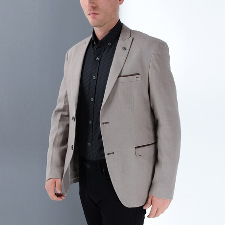 Billy Jacket // Beige (Small)