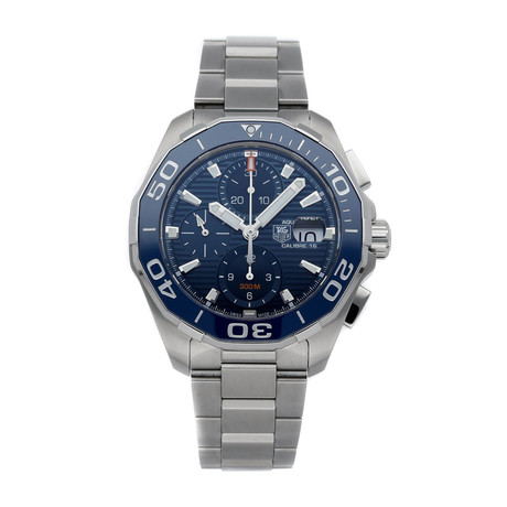 Tag Heuer Aquaracer Chronograph Automatic // CAY211B.BA0927 // Store Display
