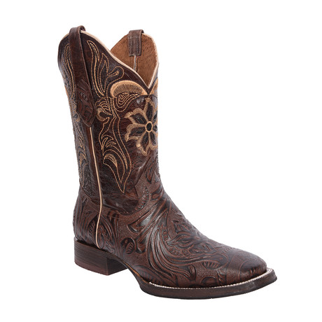 Rodeo Square Boot Sincelada // Brown (US: 7EE)