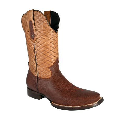 Rodeo Square Boot Bull Shoulder // Brown (US: 7EE)
