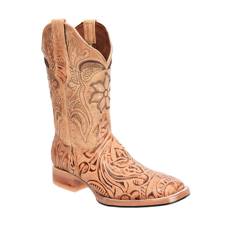 Rodeo Square Boot Sincelada // Natural (US: 7EE)