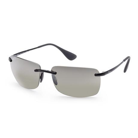 Men's Chromance Sunglasses // 60mm // Shiny Black Frame