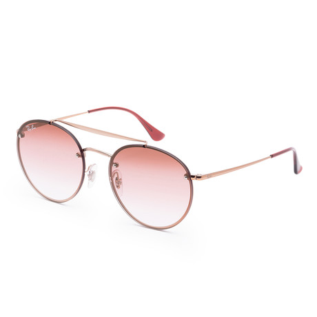 Unisex Blaze Sunglasses // 54mm // Demi Gloss Copper Frame