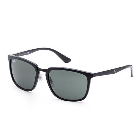 Men's Classic Sunglasses // 57mm // Matte Black Frame