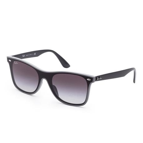 Unisex Blaze Sunglasses // 44mm // Gray + Demi Shiny Frame