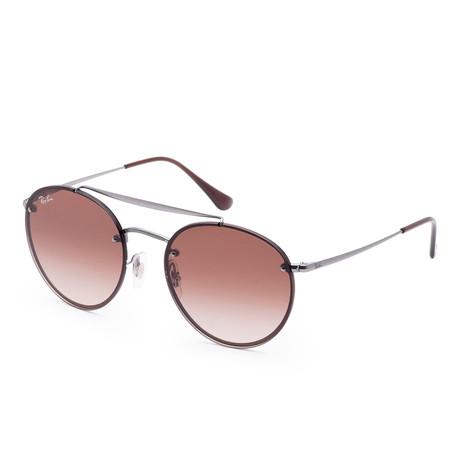 Unisex Blaze Sunglasses // 54mm // Demi Gloss Gunmetal Frame