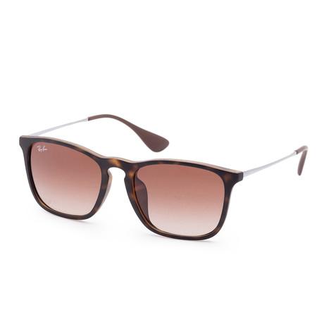 Women's Chris Sunglasses // 54mm // Rubber Havana Frame