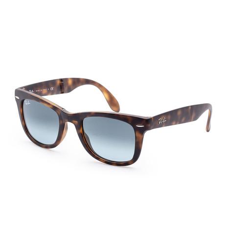 Men's Wayfarer Sunglasses // 50mm // Matte Havana Frame