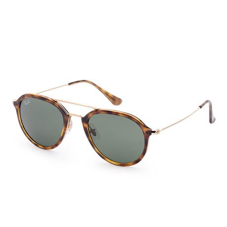 Unisex Classic Sunglasses // 50mm // Light Havana Frame