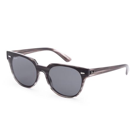 Unisex Meteor Sunglasses // 39mm // Striped Gray + Havana Frame